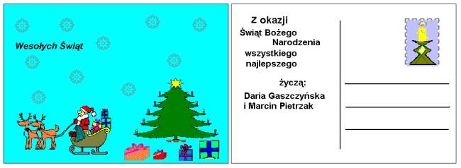 Jak zrobić kartkę bożonarodzeniową lub noworoczną w wordzie